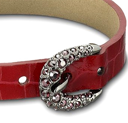 Click to shop - Buckle Bis Red Bracelet