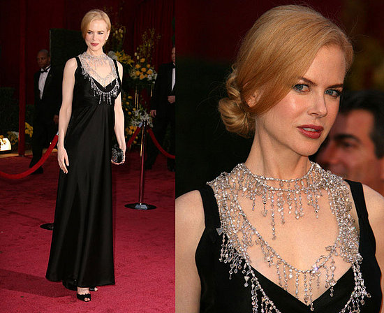 Nicole Kidman Oscar necklace