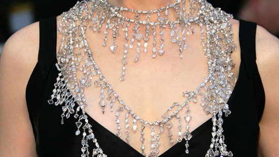 Nicole Kidman 2008 Oscar Necklace